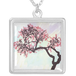 Japanese Cherry Tree Blossom Necklace