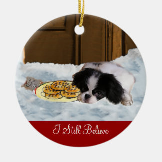 Japanese Chin Christmas Gifts Ornament