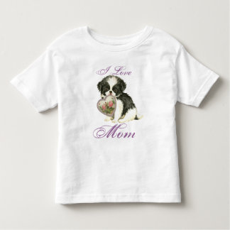 Japanese Chin Heart Mom Toddler T-shirt