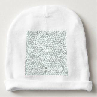 "Japanese classic pattern ""SAYA"". Harmony handle Baby Beanie"