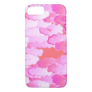 Japanese Clouds, Dawn, Orchid Pink and Coral iPhone 8/7 Case