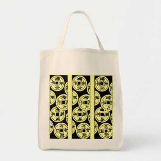 Japanese Coins Tote Bag
