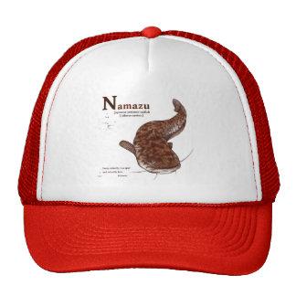 Japanese common catfish - chocolate trucker hats