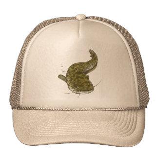 Japanese common catfish trucker hat