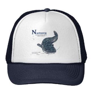 Japanese common catfish - Navy Blue Trucker Hat