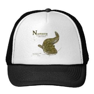 Japanese common catfish - sepia hat