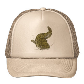 Japanese common catfish trucker hat