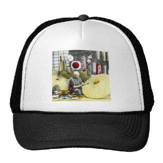 Japanese Craftsman Umbrella Maker No. 2 Vintage Trucker Hat