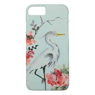Japanese Crane design iPhone 8/7 Case