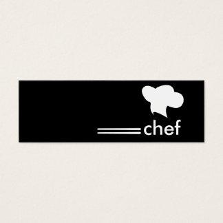 Japanese Cuisine Chef Mini Business Card