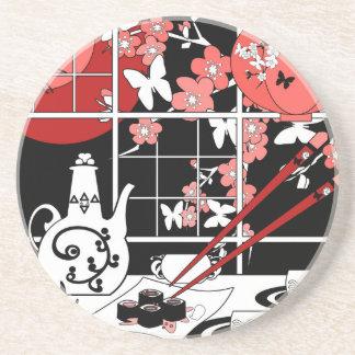 Japanese cuisine coaster