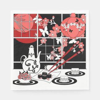 Japanese cuisine napkin