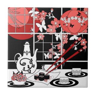 Japanese cuisine tile