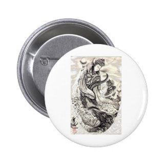 Japanese Demons Pinback Buttons