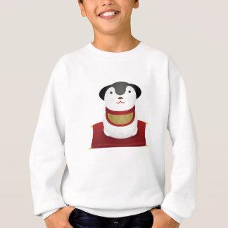 japanese dog ornament sweatshirt