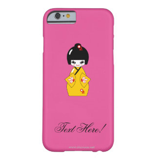 Japanese doll barely there iPhone 6 case