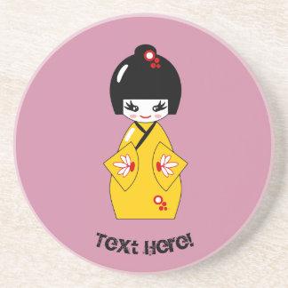 Japanese doll coaster