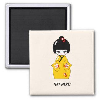 Japanese doll magnet