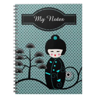 Japanese Doll Notebooks