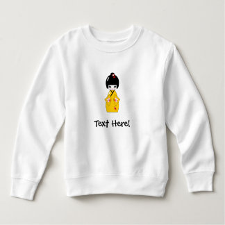 Japanese doll sweatshirt
