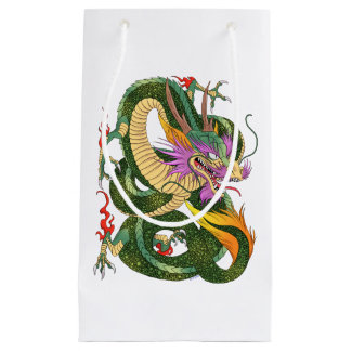 Japanese dragon Book of 100 dragons LEVEL 2 Small Gift Bag