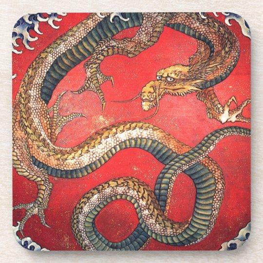 Japanese Dragon Coasters