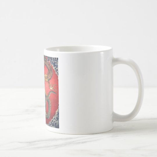 Japanese Dragon Coffee Mug