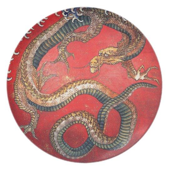 Japanese Dragon Plates