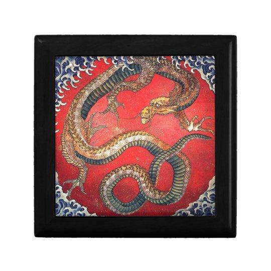 Japanese Dragon Trinket Boxes