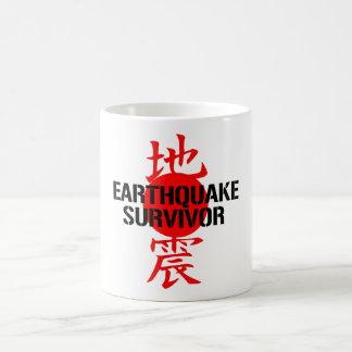 JAPANESE EARTHQUAKE SURVIVOR MUGS