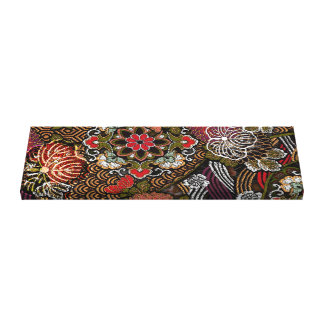 Japanese Embroidered Patterns Canvas Print