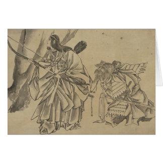 Japanese Empress circa 1800s Card