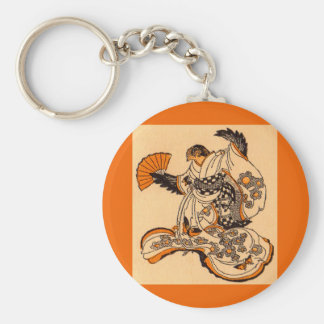 Japanese fairytale The Tongue Cut Sparrow Keychain