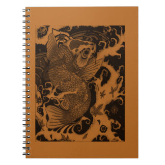 Japanese Fish Notebooks
