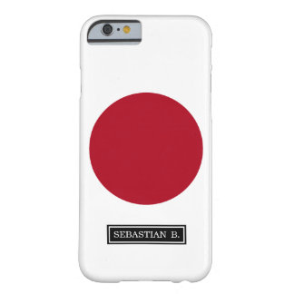 Japanese Flag Barely There iPhone 6 Case