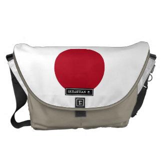 Japanese Flag Commuter Bag
