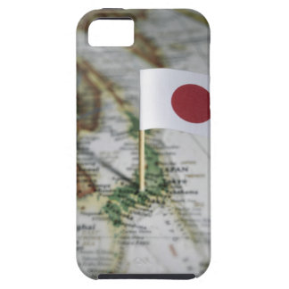 Japanese flag in map iPhone 5 cover