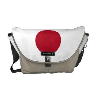 Japanese Flag Messenger Bag