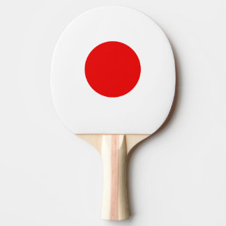 Japanese flag ping pong paddle for tabletennis Ping-Pong paddle