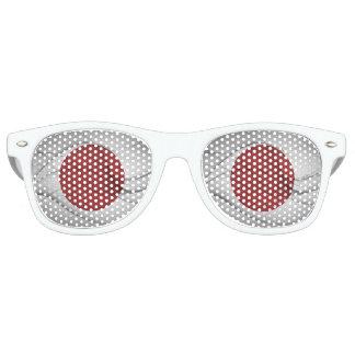 Japanese Flag Retro Sunglasses