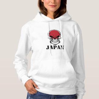 Japanese Flag Skull Japan Hoodie