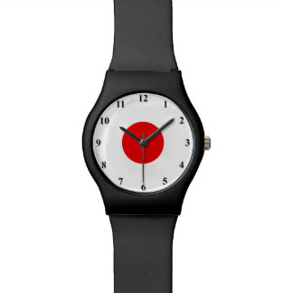 Japanese flag watch | Country colors of Japan