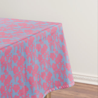 Japanese Floral Print - Pink & Purple Tablecloth