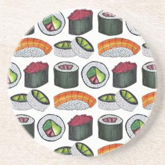 Japanese Food Sushi California Tuna Roll Nigiri Coaster