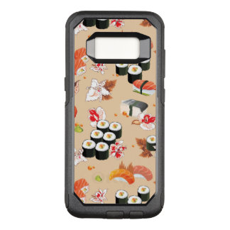 Japanese Food: Sushi Pattern 3 OtterBox Commuter Samsung Galaxy S8 Case