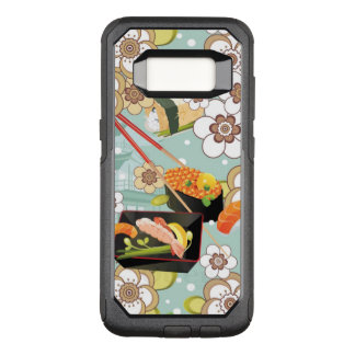 Japanese Food: Sushi Pattern 4 OtterBox Commuter Samsung Galaxy S8 Case