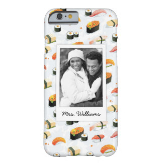 Japanese Food | Sushi Pattern | Add Your Photo Barely There iPhone 6 Case