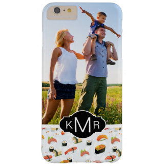 Japanese Food | Sushi Pattern | Add Your Photo Barely There iPhone 6 Plus Case