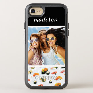 Japanese Food | Sushi Pattern | Add Your Photo OtterBox Symmetry iPhone 7 Case