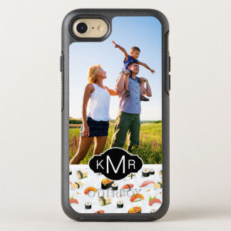 Japanese Food | Sushi Pattern | Add Your Photo OtterBox Symmetry iPhone 8/7 Case